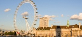 London eye, reuzenrad in Londen