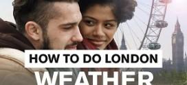 Omgaan met het weer in Londen