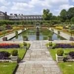 Kensington palace en Sunken Garden